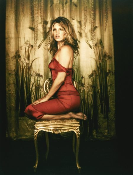 Kate In Red Dress 2005-