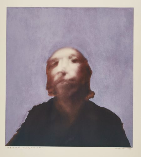 Richard Hamilton-A Portrait Of The Artist By Francis Bacon (L. 78)-1971