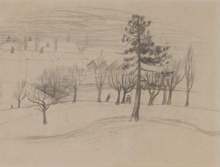 Christopher Wood-Winter Landscape-1928