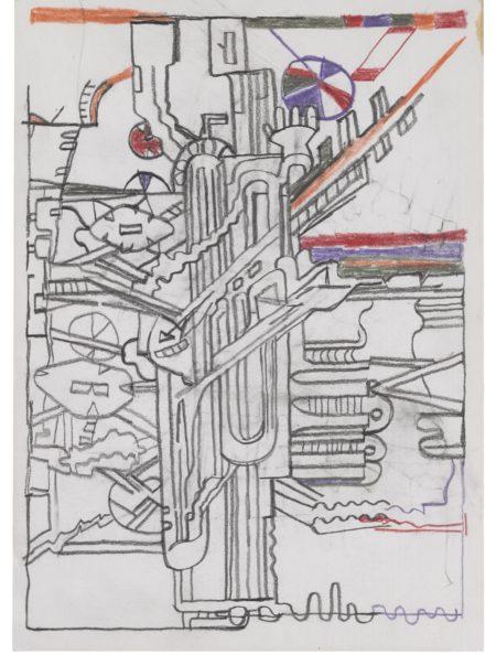 Eduardo Paolozzi-Studies For Forms-1960