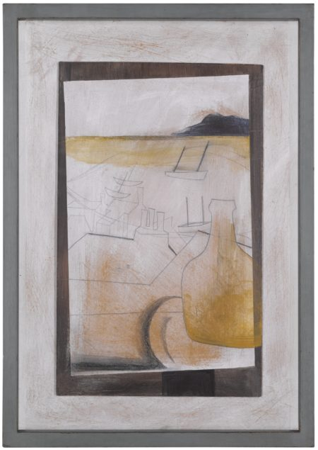 Ben Nicholson-St Ives Rooftop - Vessel And Boats-1951