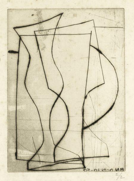 Ben Nicholson-Untitled-1950
