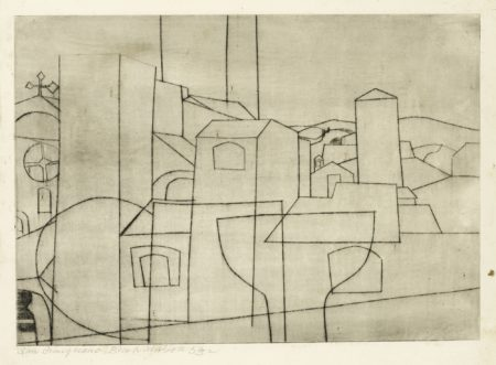 Ben Nicholson-San Gimignano (C. 21)-1953