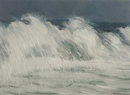 Peter Coker-High Seas At Aldeburgh Suffolk No.2-1964