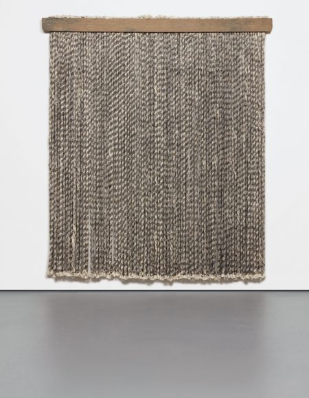 Lucy Dodd-Unwound Rope Wall Piece-2011