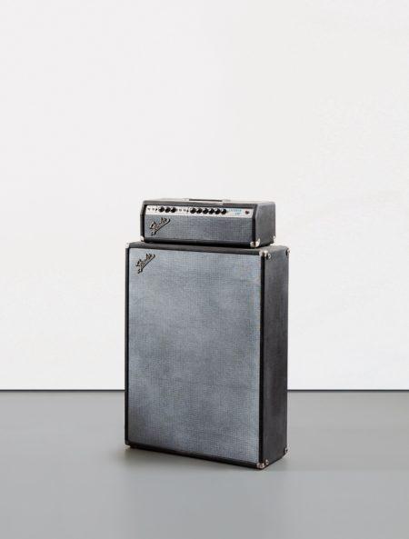 Kaz Oshiro-Fender Showman Amp With Cabinet #2 (Duct Tape & Cigarette Burn)-2002