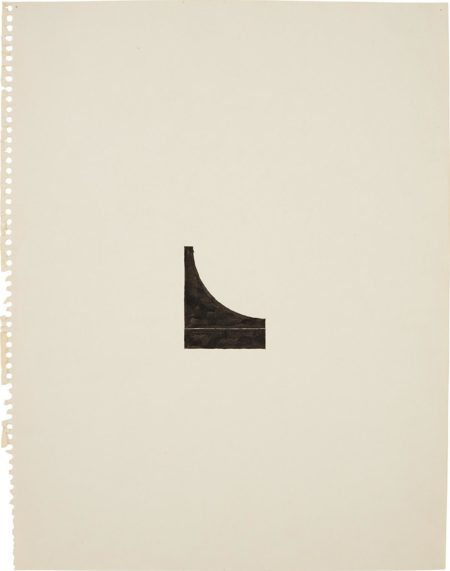 Richard Tuttle-No. 127, 60 Center Works (4)-1975