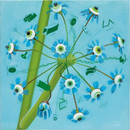 Frank Moore-Green Piece-2001