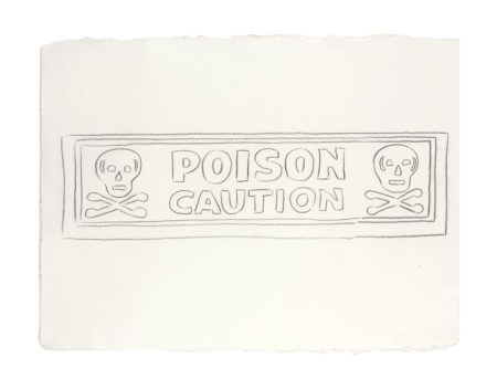 Andy Warhol-Poison / Caution-1986
