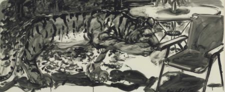 Eric Fischl-Study for Tiger of Autumn-1981