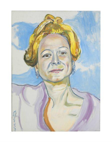 Alice Neel-Martha Mitchell-1970