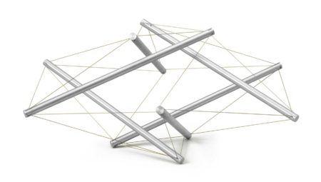 Kenneth Snelson-Untitled-1961