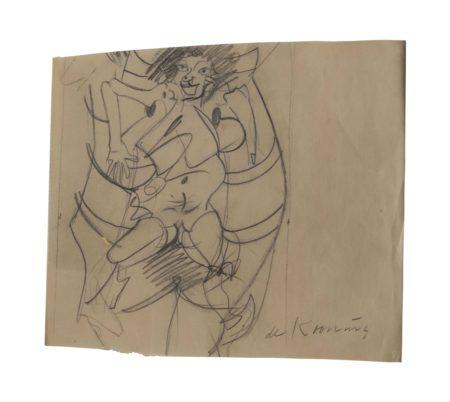 Willem de Kooning-Untitled-1964