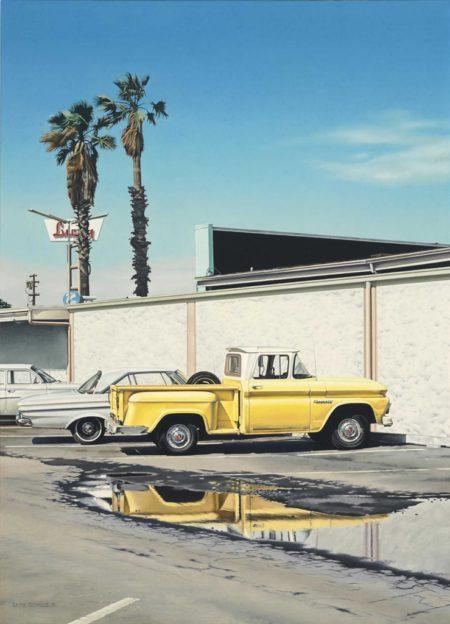 Ralph Goings-Lucky Yellow Pick-Up-1971