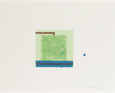 Peter Halley-Untitled-1989