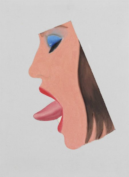 Tom Wesselmann-Study for Face #3-1967