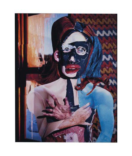 Daniel Gordon-Portrait in Orange and Blue-2010