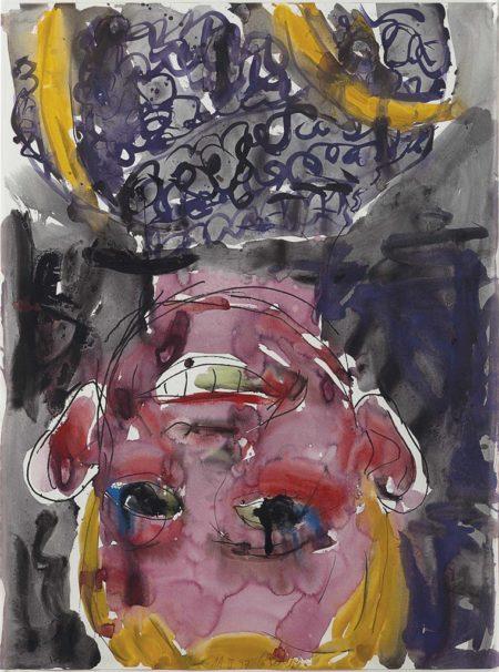 Georg Baselitz-Untitled-1997