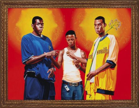 Kehinde Wiley-Passing/Posing (Marriage of the Virgin)-2005