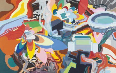 Franz Ackermann-Untitled (evasion XII: what a game)-1997