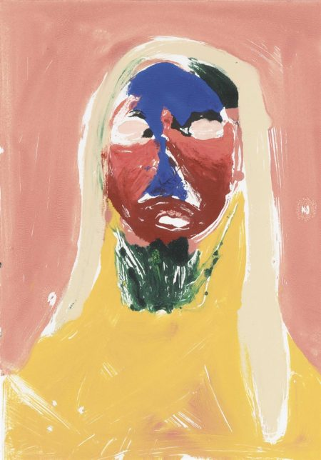 Nicola Tyson-Portrait Head #6-2002