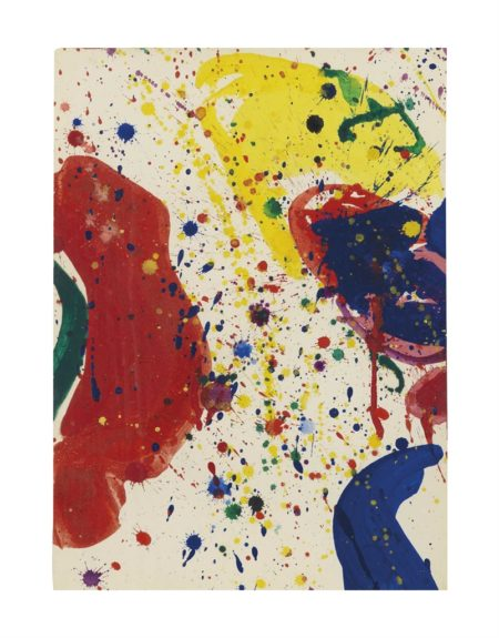 Sam Francis-Red Yellow and Blue-1963