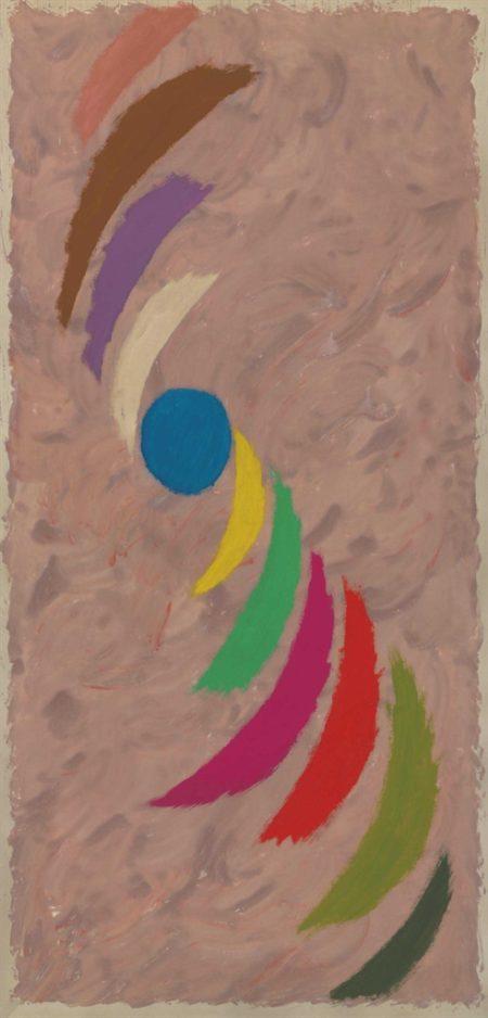 Jack Bush-Spin-Off Blue-1976