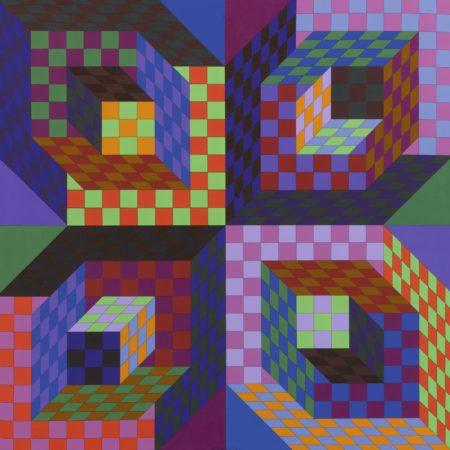 Victor Vasarely-Firaxo-1977