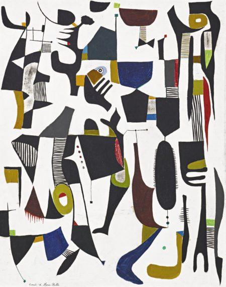 Conrad Marca-Relli-Untitled-1948