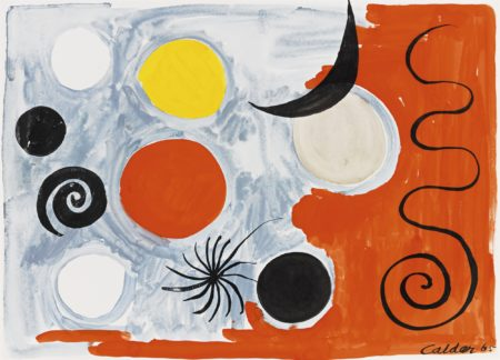 Alexander Calder-Black New Moon-1965