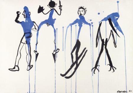 Alexander Calder-Beginners' Slope-1966