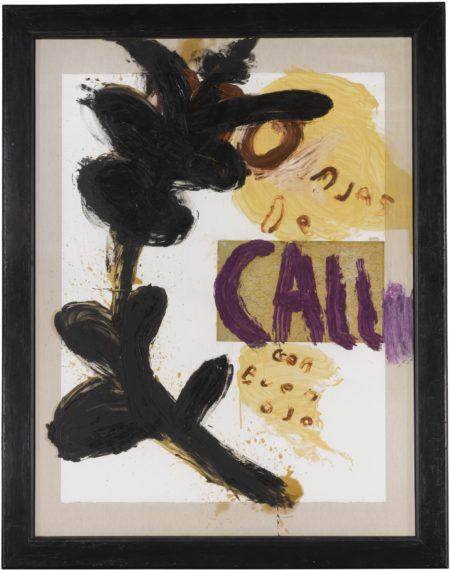 Julian Schnabel-Untitled (Monjas De Calle Con Buen Ojo)-1993