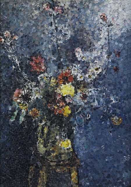 Vik Muniz-Bouquet After Henri Matisse (From Pictures Of Magazines)-2004
