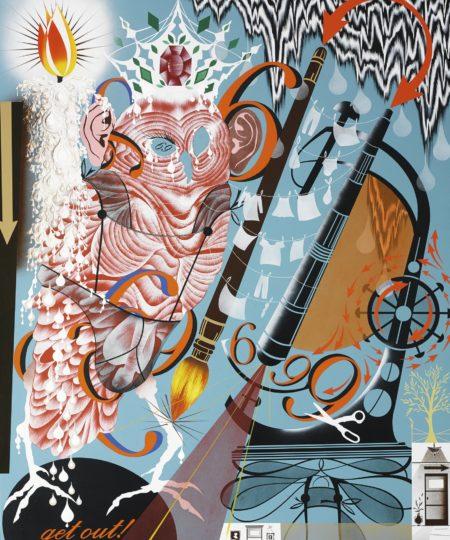 Lari Pittman-Transubstantial And Needy-1991
