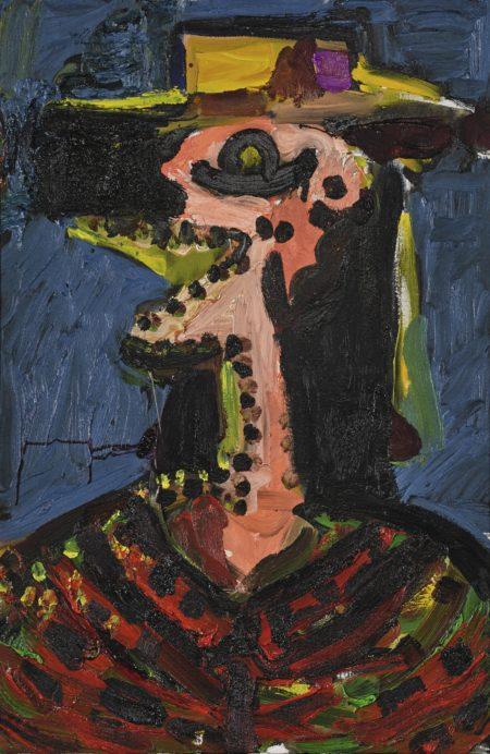 George Condo-Mad Farmer-1989