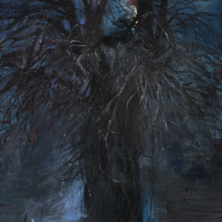 Jim Dine-The Blue Of Autumn (With A Red Light)-1980