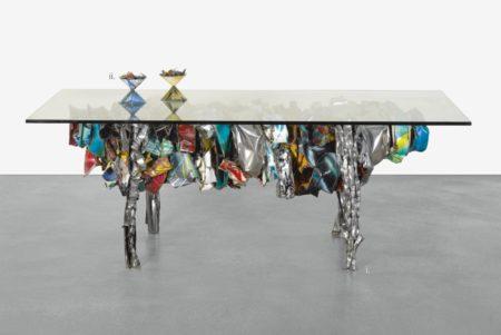 John Chamberlain-Table Of Tides; Pot-Pourri [Two Works]-1993