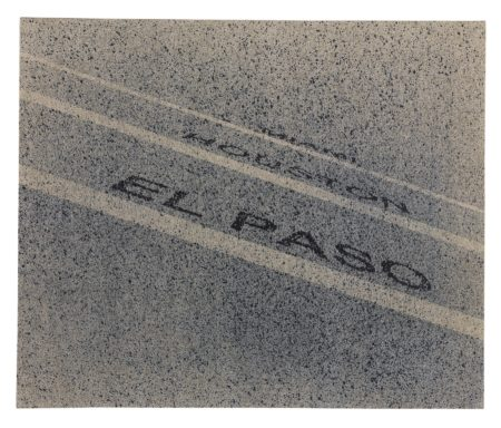 Ed Ruscha-El Paso To Miami-2000