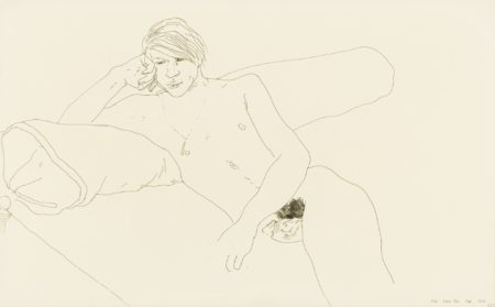 David Hockney-Peter Powis Terr.-1967