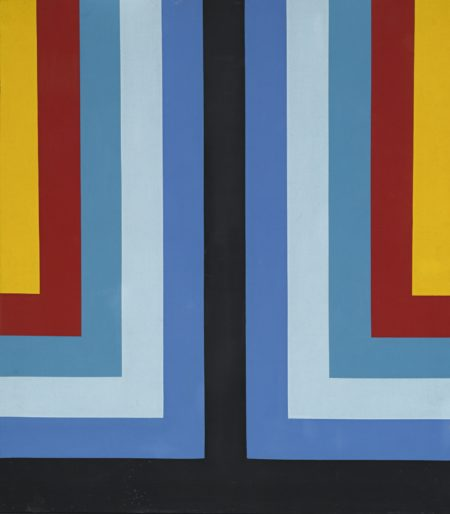 Howard Mehring-Red And Blue-1966