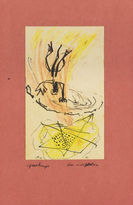 Jackson Pollock-Untitled-1947