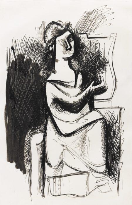 Arshile Gorky-Untitled-1938