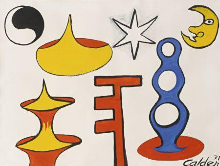 Alexander Calder-Ubu-1971