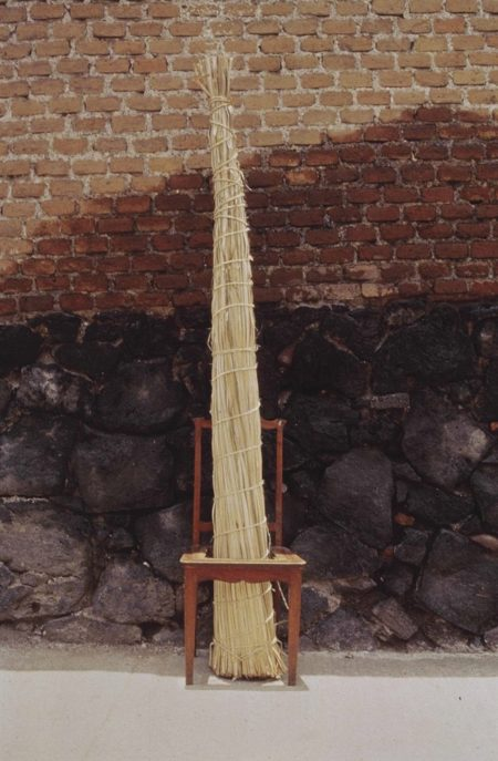Gabriel Orozco-Silla con Bejuco (Chair with Cane)-1990