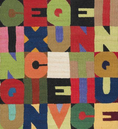 Alighiero Boetti-Cinque per Cinque Venticinque (Five times Five Twenty-Five)-1988