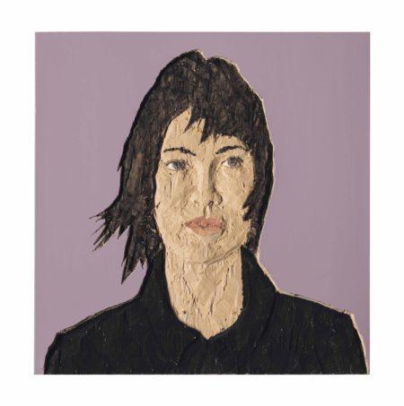 Stephan Balkenhol-Portrait of a Woman-2010