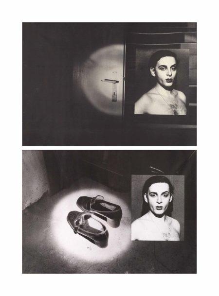 (i) Selbstportrait from the INDIZ-Series I; (ii) Selbstportrait from the INDIZ-Series III-1973
