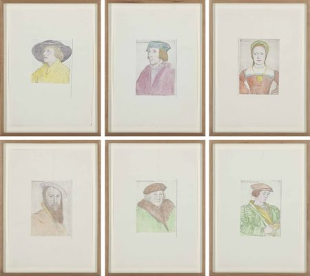 Hans-Peter Feldmann-Untitled (Portraits after Holbein)-1977