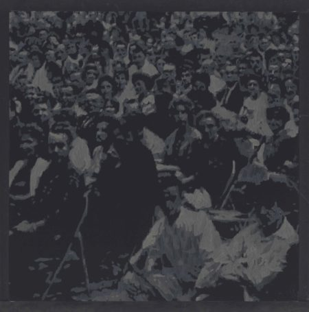 Wayne Gonzales-Seated Crowd-2007