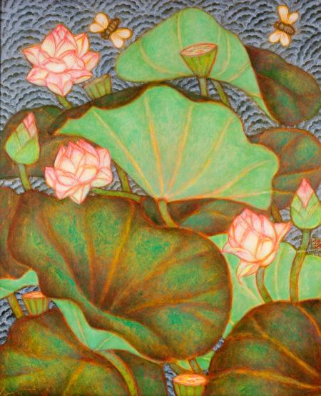 A. Ramachandran-Untitled (Lotus Pond)-1998